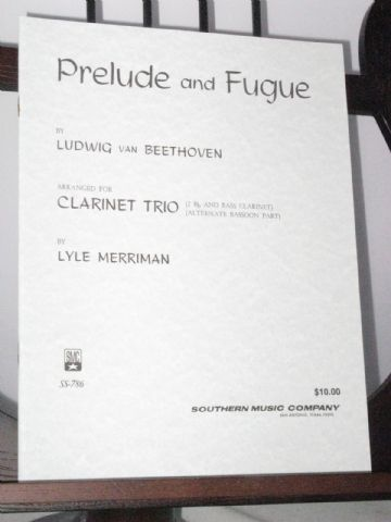 Beethoven L van - Prelude and Fugue arr Merriman L